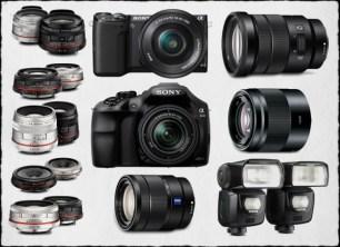 Parts of Sony Camera