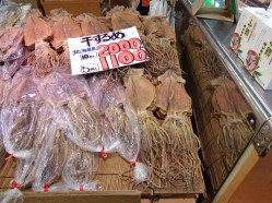 Dried squid (I think?)