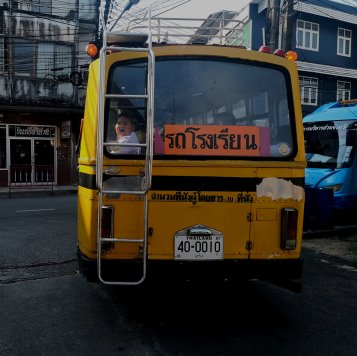 Thailand school bus