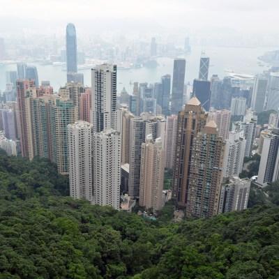City view from Victoria Peak, Hong Kong