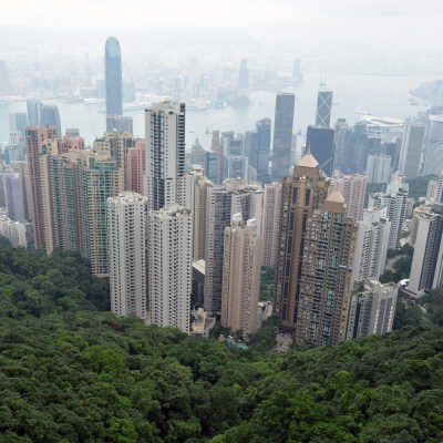 City view from Victoria Peak, Hong Kong