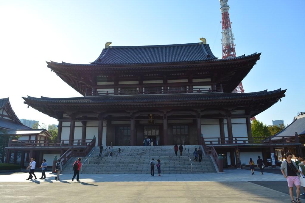 Zōjō-ji Temple in Tokyo, Japan