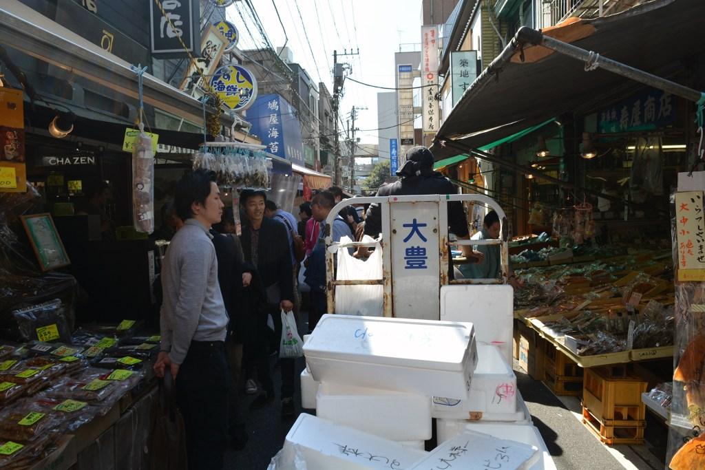 More market in Tokyo, Japan