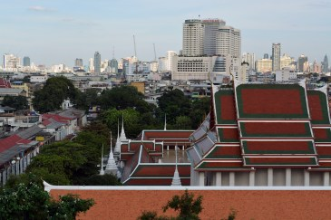 City view in Bangkok, Thailand