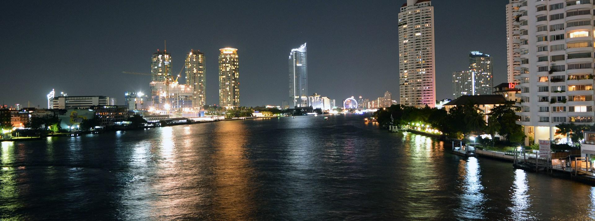 One night in Bangkok, Thailand