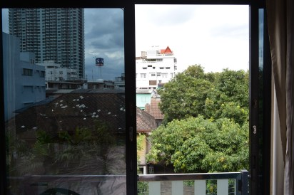 Bedroom view, Diamond City Hotel, Bangkok, Thailand