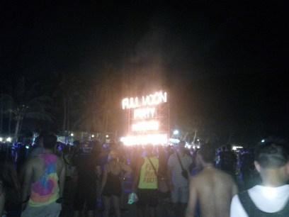 At the Full Moon Party, Koh Phangan