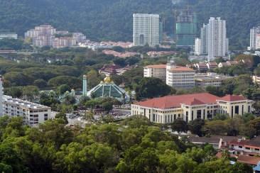 Backview at Sunny Ville Condominium, Penang, Malaysia