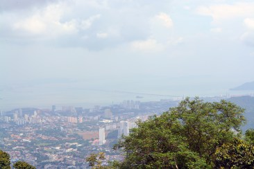 George Town as viewed from Penang Hill