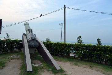Cannon in Fort Cornwallis