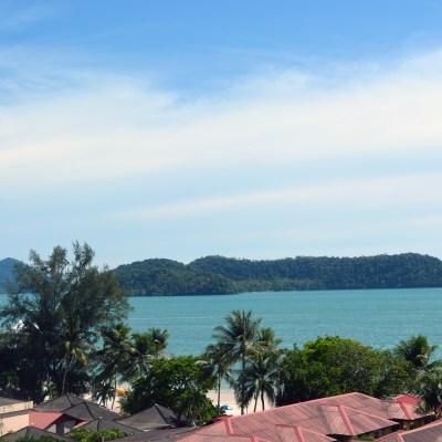 View from Langgura Baron Resort, Langkawi island