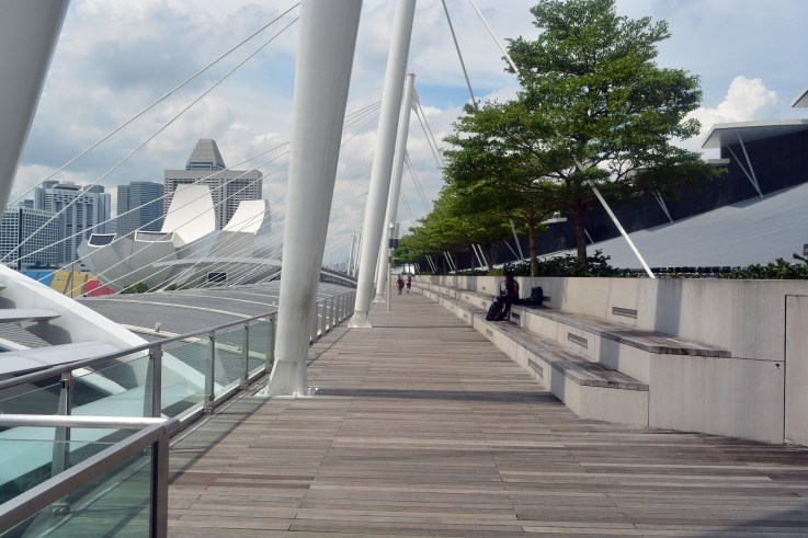 Around Marina Bay Sands, Singapore