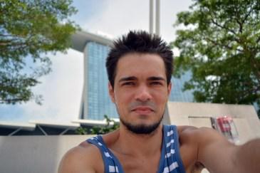 El selfie in El Singapore