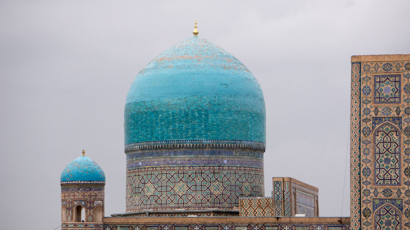Tashkent to Samarkand – 25th April 2015