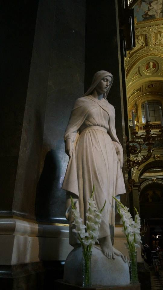 Statue in the church