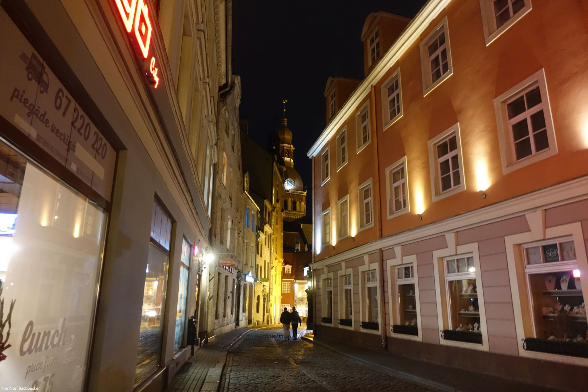 Riga-at-night