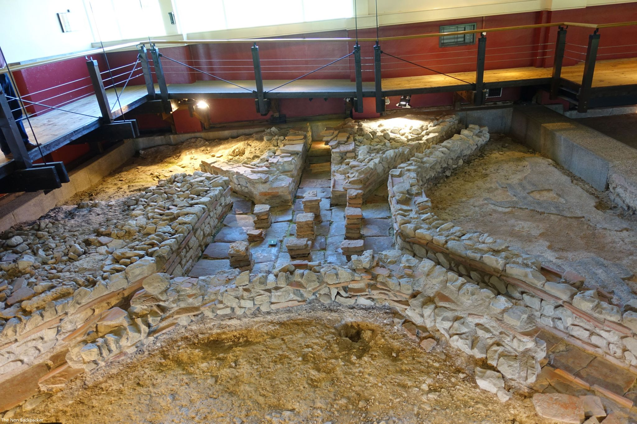 Roman underfloor heating