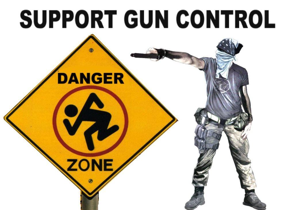 NO GUN CONTROL IS MURDER (4/6)