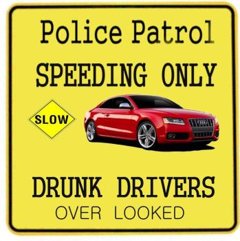 NO SPEED DRIVING