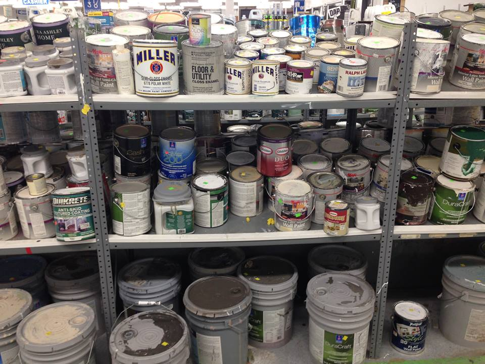 Habitat ReStore paint