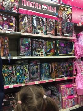 A Toys R Us trip to spend birthday money