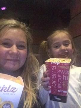 Half term fun- A trip to the cinema