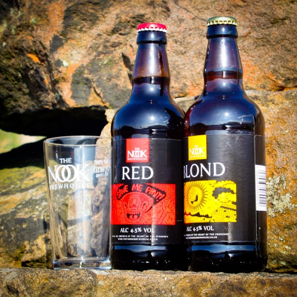 Nook Brewhouse Gift Pack – Two Ales & Glass