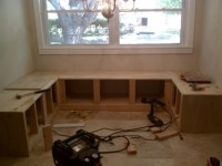 breakfast nook storage bench plans