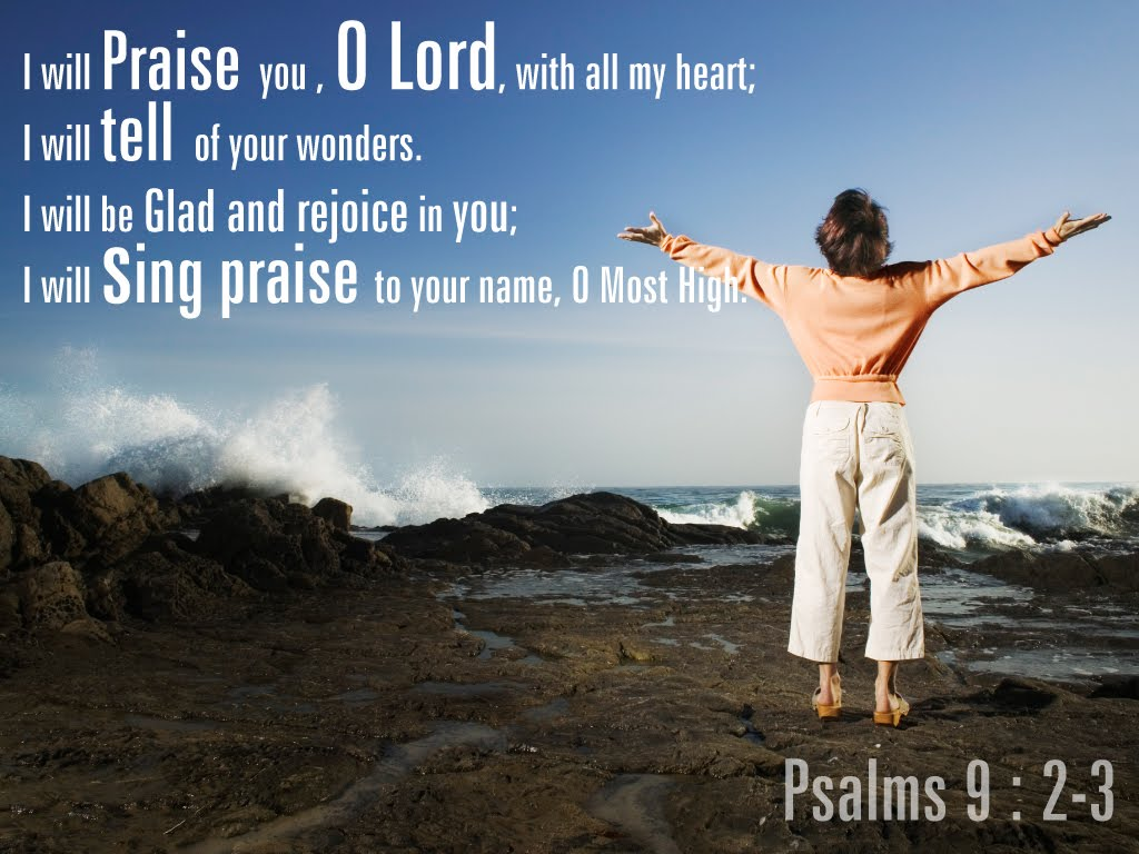 Psalm 9 The Book of Gods Wonders  The Noontimes