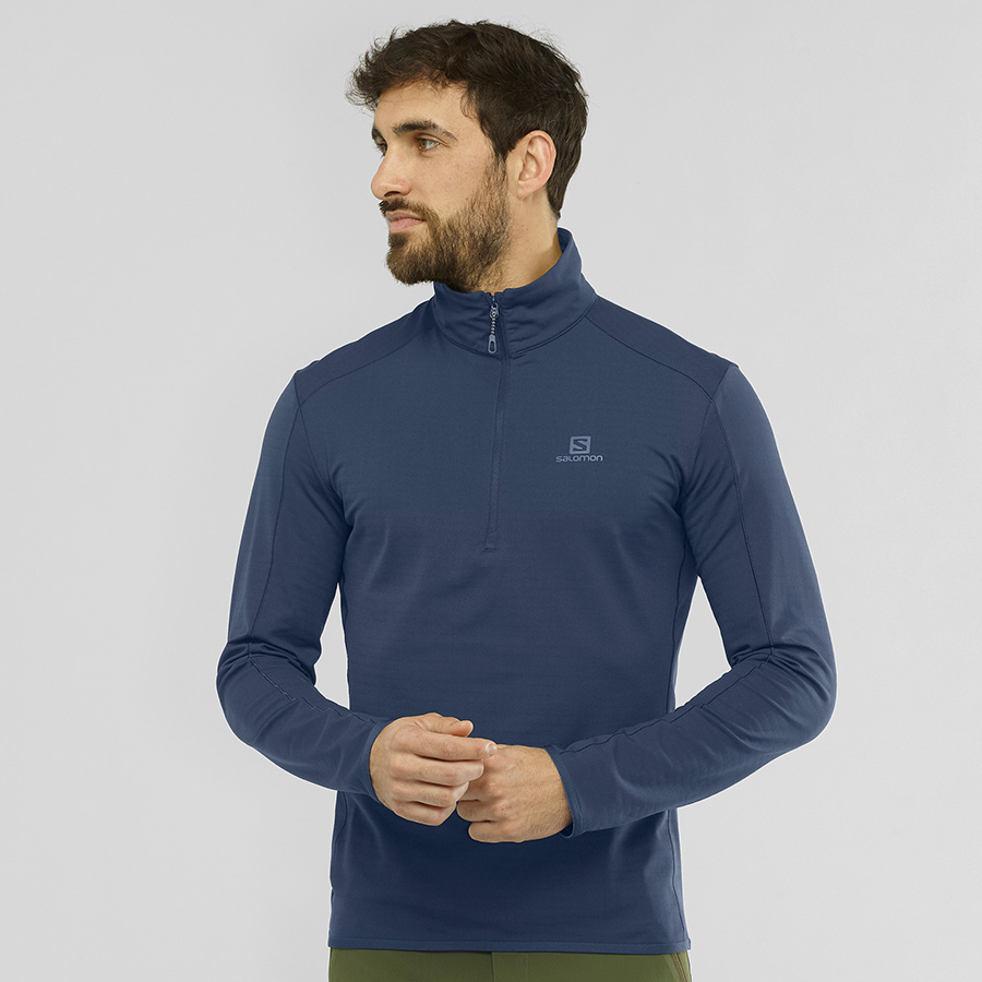 OUTRACK HALF ZIP MID