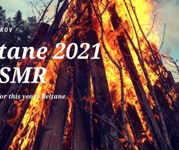 Beltane 2021 | ASMR alone in woods