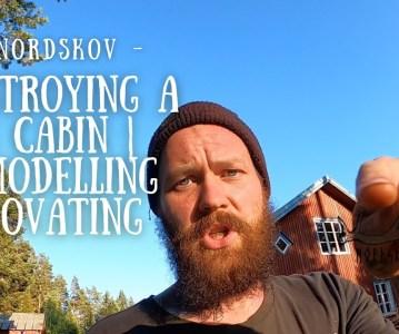 Destroying a log cabin | Remodelling, Renovating