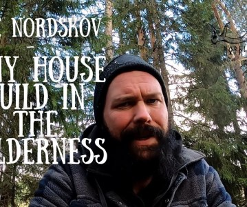Tiny house build in the wilderness