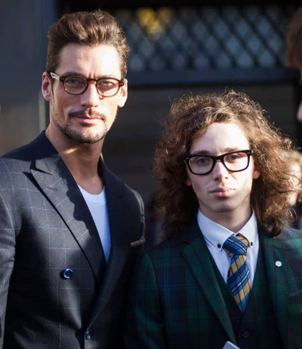 David Gandy & Harry J Bartlett leaving Topman Design