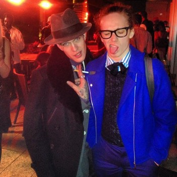 Jimmy Q & Harry J Bartlett at the KTZ after party