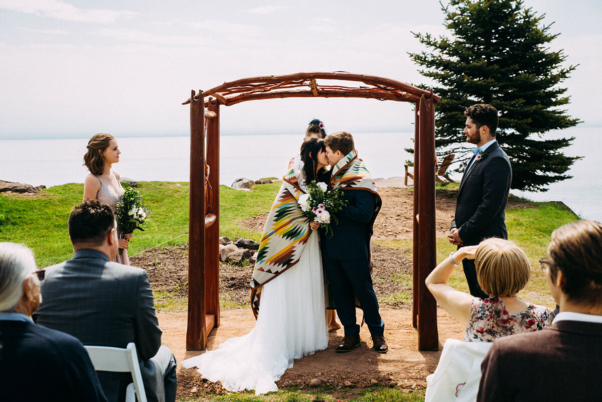 A Small Two Harbors Wedding With Big Personality - The ...