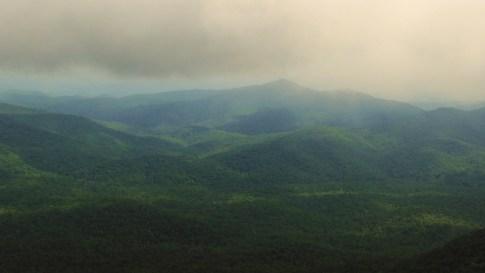 The Blue Ridge in summer