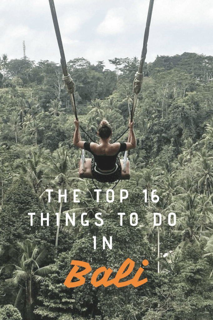 16 backpacker things to do in Bali travel tip