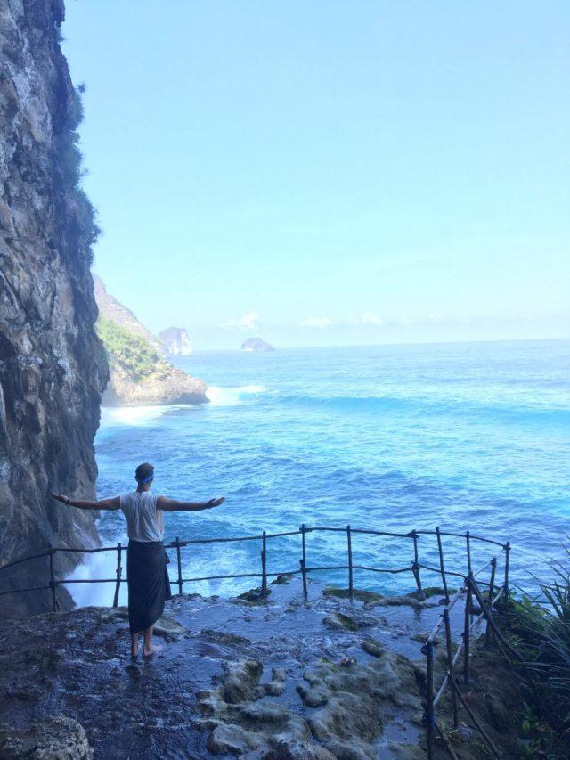 best waterfall Nusa Penida