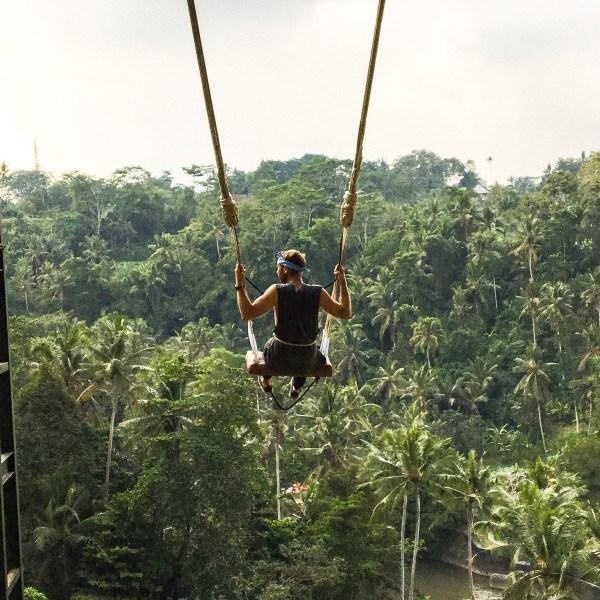 The Amazing Bali Swing In Ubud