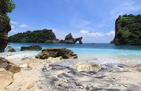 Atuh beach on Nusa Penida