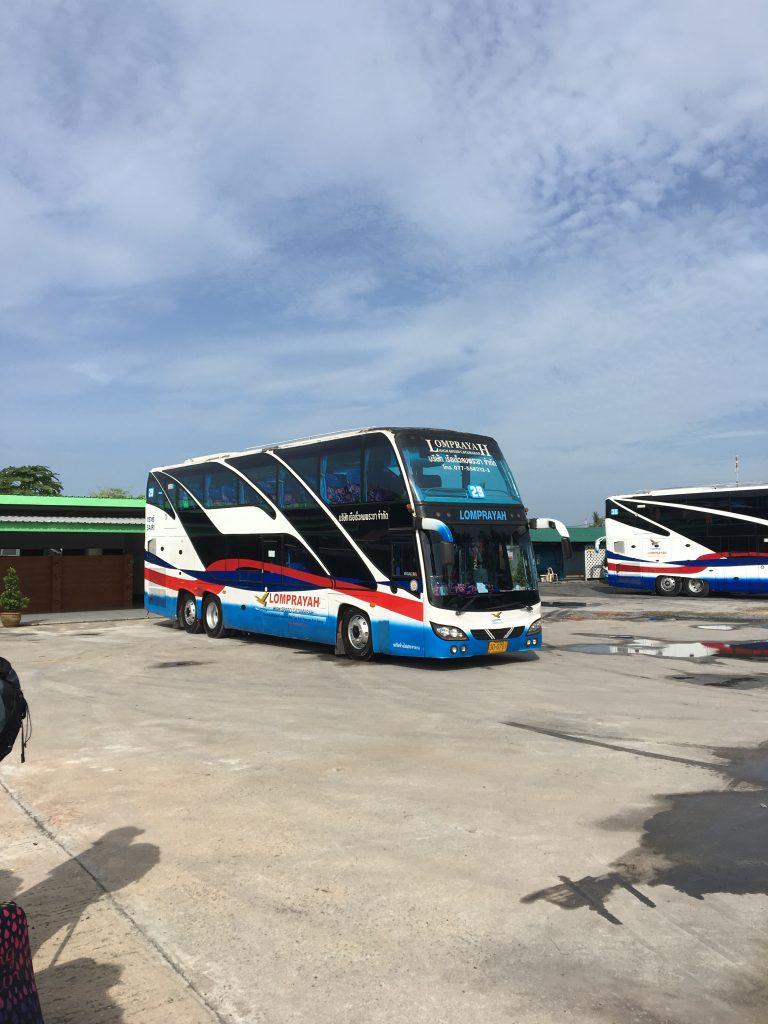 Bangkok to Koh Samui overnight train Bus