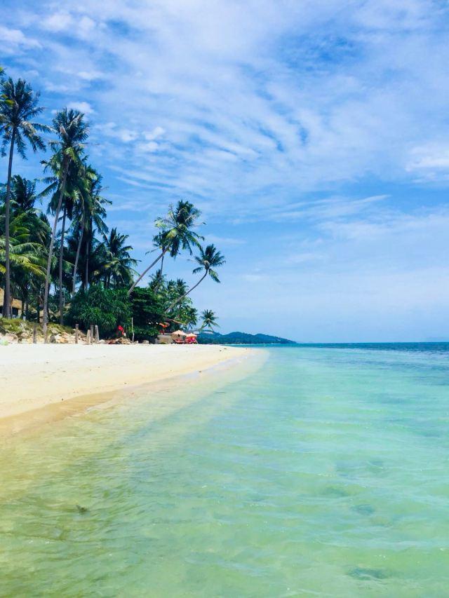Best secret beach on Koh Samui Baan Tai