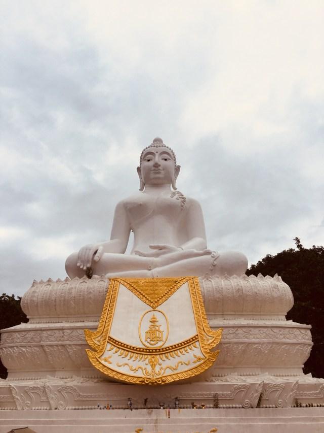 Big Buddha in Pai photography