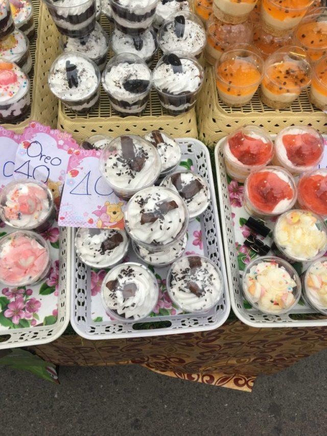 Koh samui sunday night market cakes