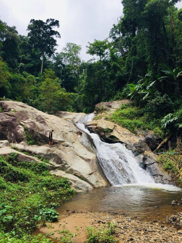 The Pai waterfall