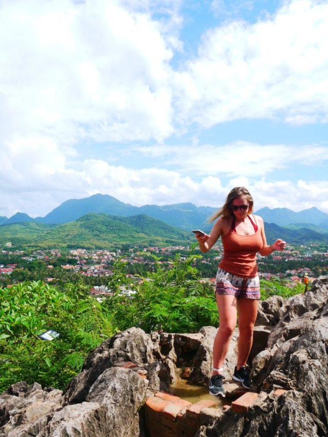 Mount Phousi Laos