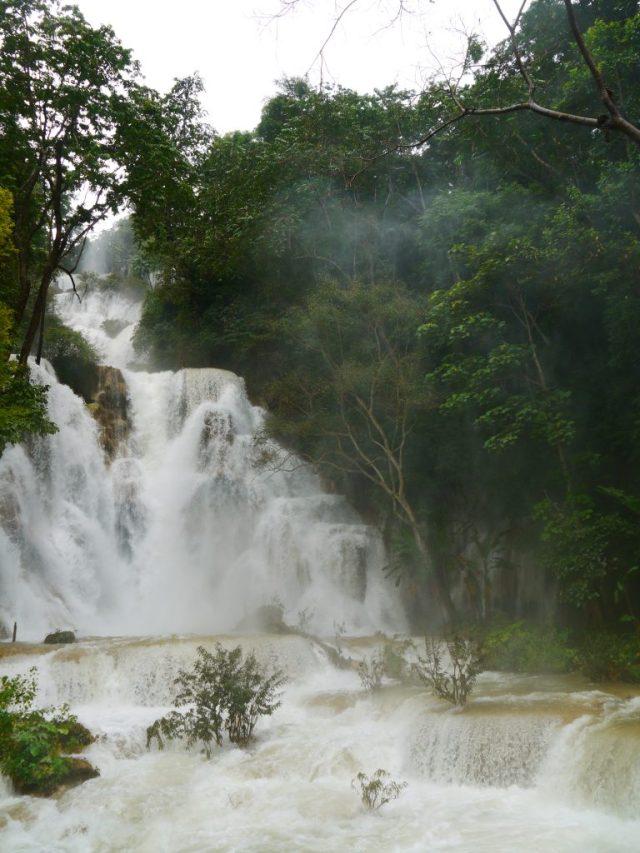how to do the Kuang Si Falls in Luang Prabang