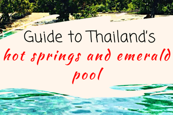 The awesome Krabi Hot springs and emerald pool
