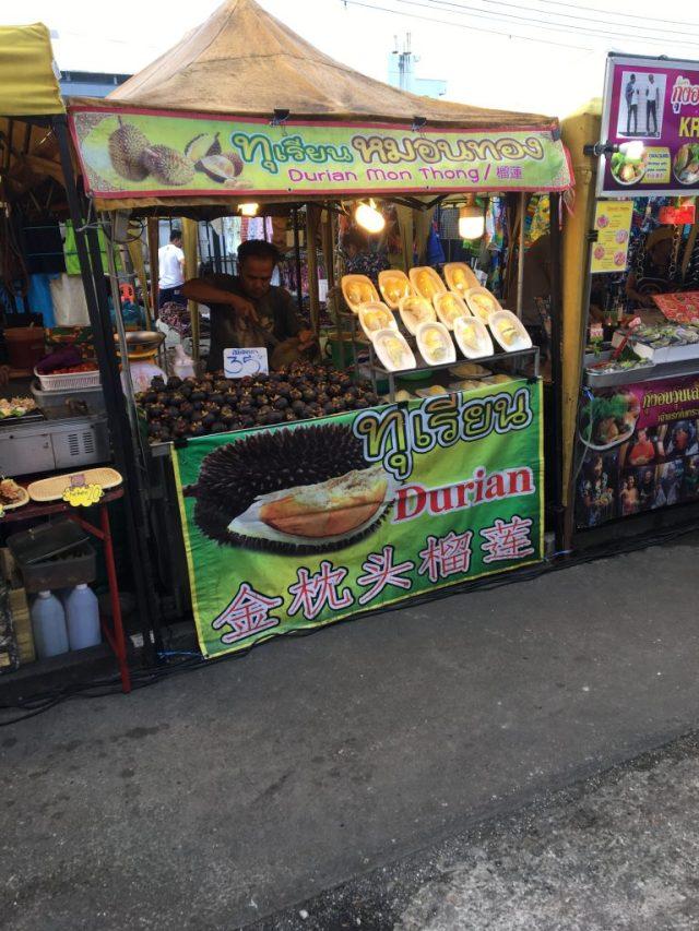 Krabi night market food